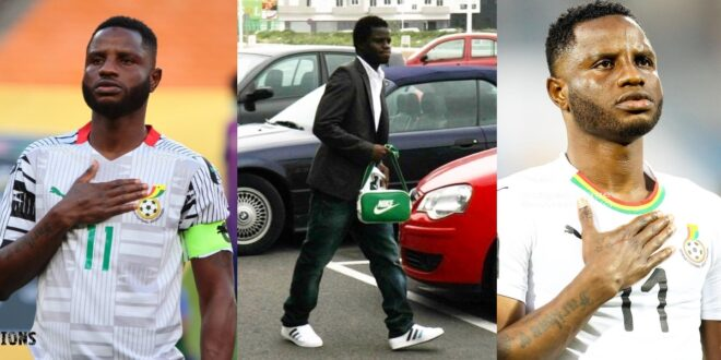Stephen Appiah, Inkoom, Others Reacts to Wakaso's throwback picture of himself. 1
