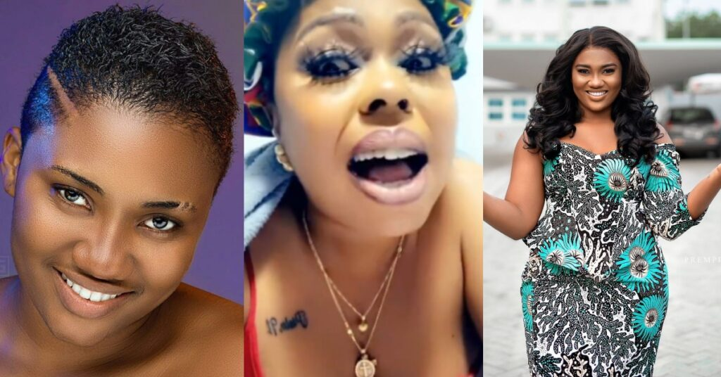 TV3 knew Abena Korkor was Bipolar but used and dumped her - Afia Schwarzenegger attacks TV3 in a new video 2