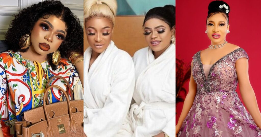 Tonto Dikeh unfollowed me and I blocked her - Bobrisky confirms their 5-year-old friendship has ended 2