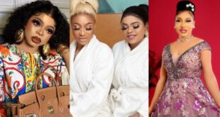 Tonto Dikeh unfollowed me and I blocked her - Bobrisky confirms their 5-year-old friendship has ended 1