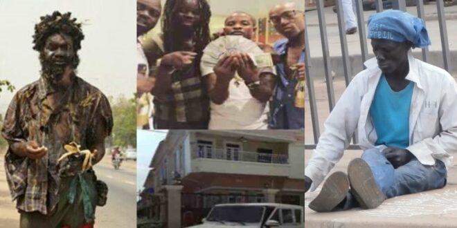 Video - Ghanaian millionaire tells how a m@d man made him rich 1