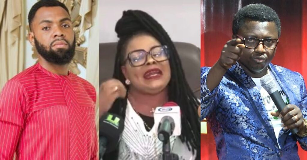 Video; Nana Agradaa begs Opambour, Rev. Obofour, and other pastors for forgiveness after being born again 2
