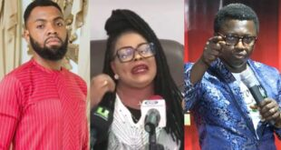 Video; Nana Agradaa begs Opambour, Rev. Obofour, and other pastors for forgiveness after being born again 11