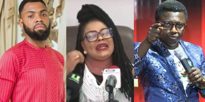 Video; Nana Agradaa begs Opambour, Rev. Obofour, and other pastors for forgiveness after being born again 1