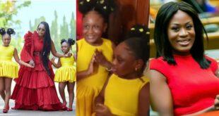 Video of Nana Akua Addo's beautiful first daughter pops up 61