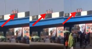 Video of Sakawa boys bathing on a bridge in a broad daylight surfaces 20