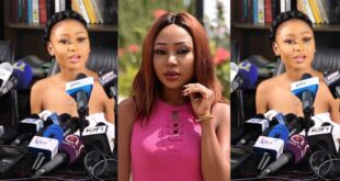 """Video: I am going to be an """"ambassador"""" against the posting of nυdity; it is not good - Akuapem Poloo 63"""