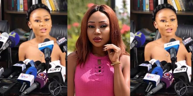 """Video: I am going to be an """"ambassador"""" against the posting of nυdity; it is not good - Akuapem Poloo 1"""