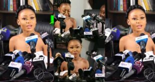 """Video: """"if I knew the photo would land me in prison, I wouldn't have shared it"""" – Akuapem Poloo 65"""