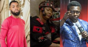 Watch as Opambour and Rev Obofour's reacts to Nana Agradaa's arrest in a new Videos 5