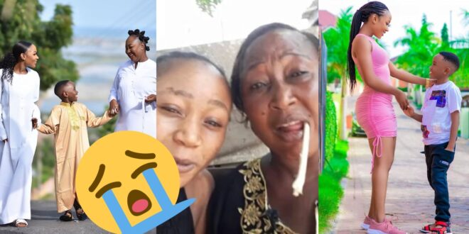 Watch video as mother of Akuapem Poloo cries and pleads for her daughter to be released 1