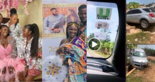 Newly married Abena Moet Involved in life threatening accident (videos+photos) 15