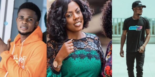 Street hawker who is now a radio presenter because of Nana Aba Anamoah narrates how she has been a blessing to him 1