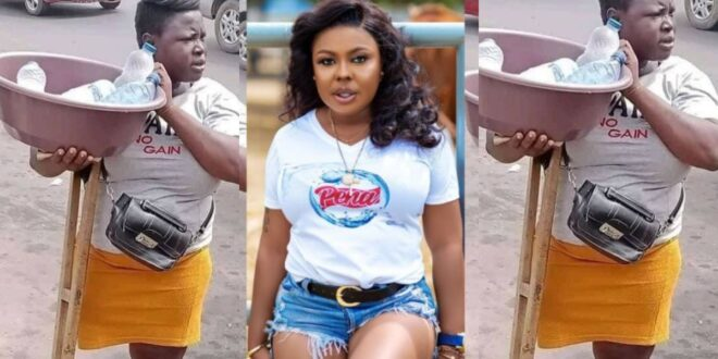 Afia Schwarzenegger to help disabled water seller who was spotted hawking 1