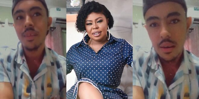 """feel free to hate my mother, she doesn't even care""- Afia Schar's twin son speaks (video) 1"