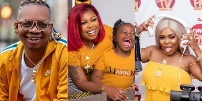 """Afia Schwarzenegger smokes weed in-front of her children at home""- Nana Tornado 1"