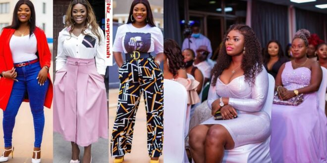 Akua GMB flaunts her banging body to show her ex-husband what he is missing. 1