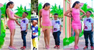 Akuapem Poloo will celebrate her son's 8th birthday from prison (video) 12