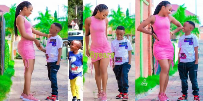 Akuapem Poloo found guilty by the Accra Circuit Court for abusing the rights of her son. 1