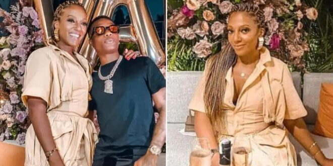 Wizkid Surprises Akuffo Addo's Daughter at her 41st birthday party (video) 1