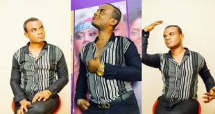 """I am not gay, I go to church and my church doesn't support that, I was born this way""- Akwasi Kardashian (video) 14"