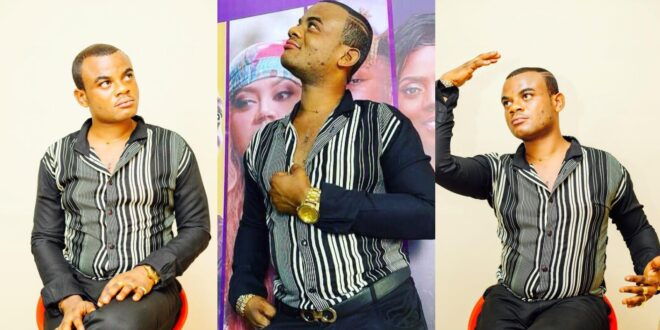 """""""I am not gay, I go to church and my church doesn't support that, I was born this way""""- Akwasi Kardashian (video) 1"""