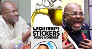 There is no power in Anointing oil and Stickers - Kennedy Agyapong 11