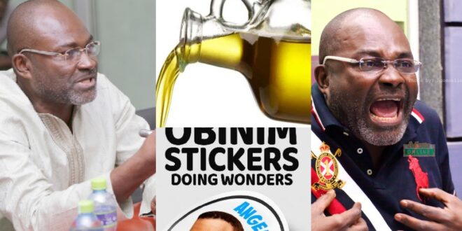There is no power in Anointing oil and Stickers - Kennedy Agyapong 1