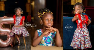Beautiful deaf Ghanaian girl with blue eyes trills social media with stunning pictures 119