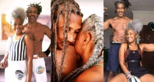 True Love: Beautiful pictures of an Old man and his wife causes stir online 13