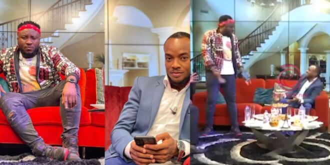 Embarrassing Moment DKB Nearly Walked Out Of United Showbiz After Halifax Said He Has 'Small Sense' - Video 1