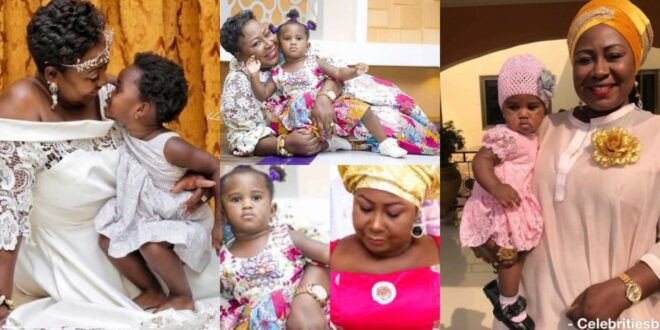 """""""I have been a bad mother, i don't take good care of you, forgive me""""- Gifty Anti emotionally begs her daughter. 1"""