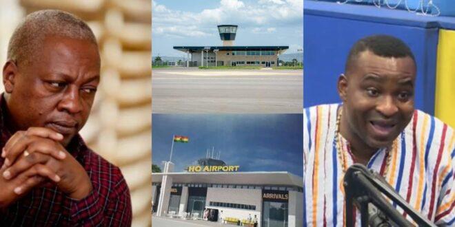 """The Ho airport Mahama designed looks like someone's single room self contain""- Chairman WOntumi 1"