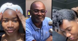 Kennedy Agyapong's beautiful daughter shares her natural beauty without makeups (video) 101