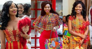 check out some beautiful Kente with Lace combinations you can wear for all occasions (photos) 19