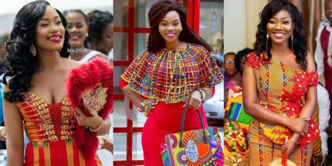 check out some beautiful Kente with Lace combinations you can wear for all occasions (photos) 1