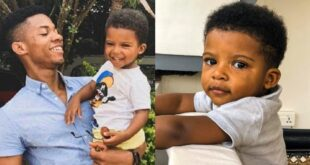 Kidi had his son before he was famous, all you need to know about his baby mama and son 39