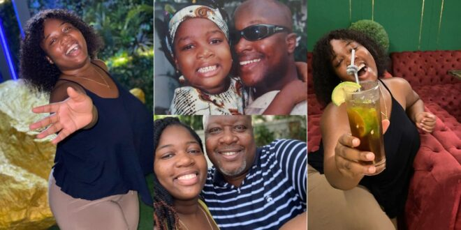 Kwame Sefa Kayi's grown-up daughter, Fafa shakes social media with her beauty (photos) 1