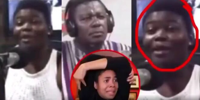 """""""My mother forced me to f!nger her when my dad was not around""""- Lady narrates her story to Nhyira FM 1"""