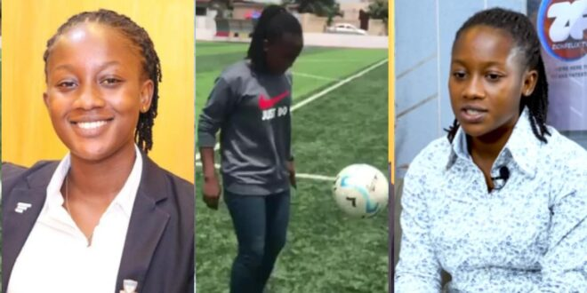 Meet Ghana's first and only female sports commentator Joyce Annoh Yeboah (video) 1