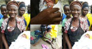 M@d woman gives birth to a health handsome baby boy. (photos) 9