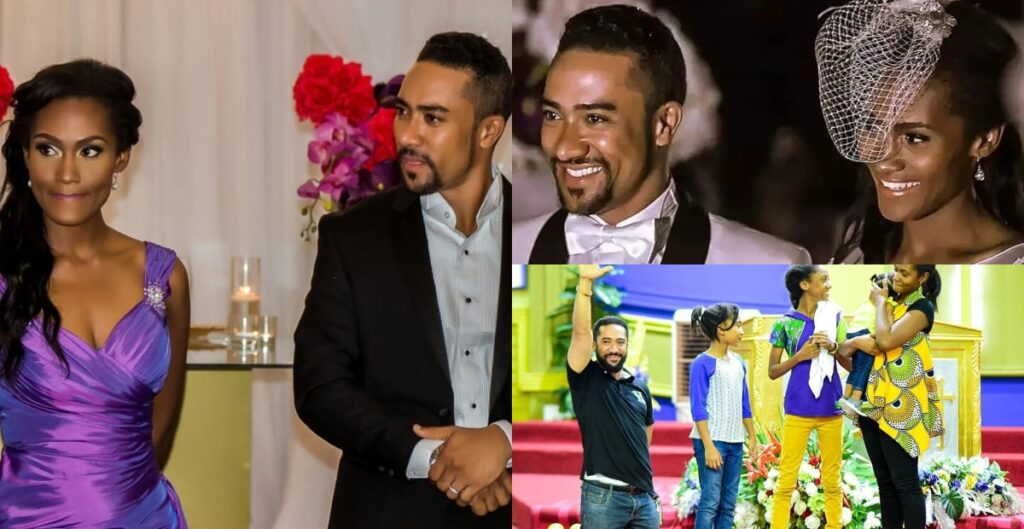 Pictures of Majid Michel's wife who has been with him since 2005. 2