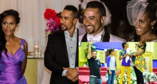 Pictures of Majid Michel's wife who has been with him since 2005. 83