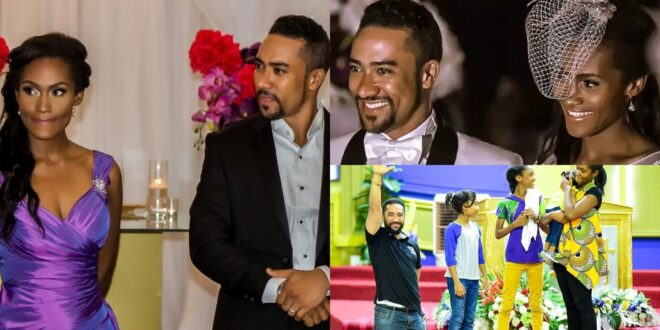 Pictures of Majid Michel's wife who has been with him since 2005. 1