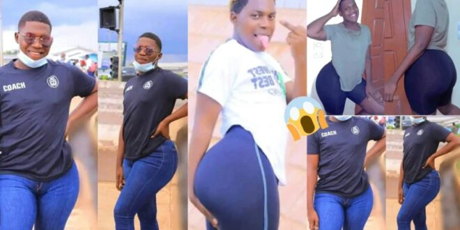 Alhaji Bintu😂😂, see pictures of the boy with a$$ that ladies envy (photos) 1