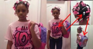 See what this father did to his 10 years old daughter after he found out she has a boyfriend. 140