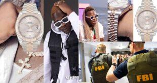 Medikal deletes $10,000 Rolex watch receipt after social media users Tagged FBI 36