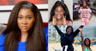 Mercy Johnson's daughter is just a photocopy of her (pictures) 19