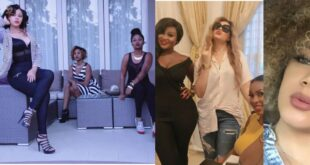 See photos of Nadia Buari's sisters who are also successful in seperate fields. 5