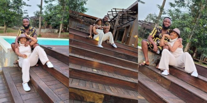 Nana Ama Mcbrown and her husband goes for a 'Baecation' to enjoy themselves this easter. (photos) 1